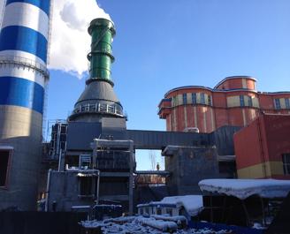 牡丹江热电有限公司低温省煤器项目建设