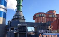 300MW低温省煤器安装现场