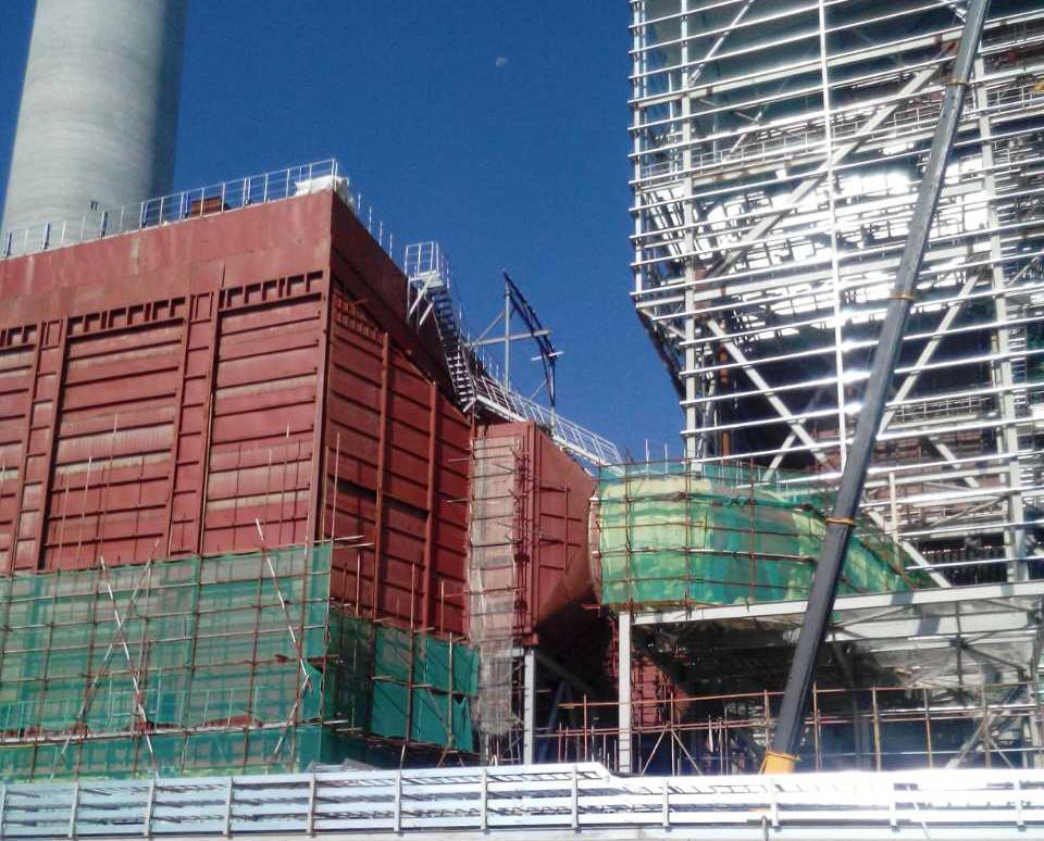 西宁电厂低温省煤器项目建设