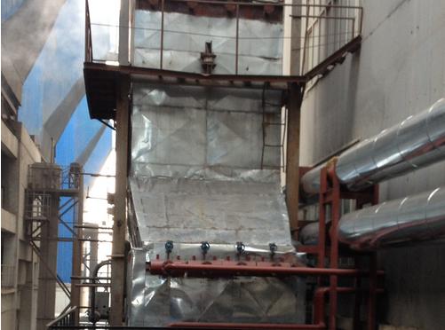 黑龙江绥化中盟热电低温省煤器项目建设