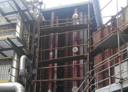 江苏华能南通电厂低低温省煤器项目建设