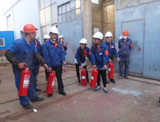 凯能锅炉消防安全培训
