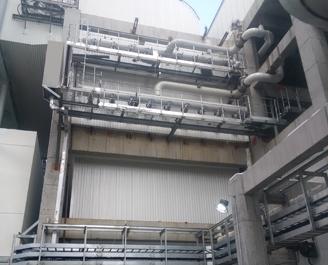 莱芜电厂百万机组低温省煤器改造