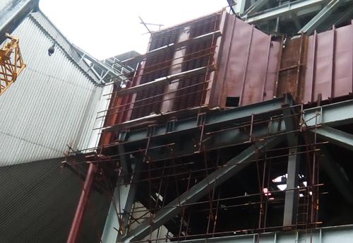 沁北电厂4*600MW低温省煤器项目建设