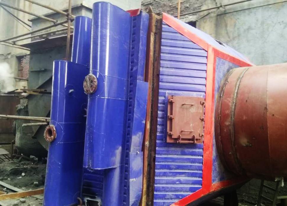 凯能低温省煤器入驻辽宁金河热电