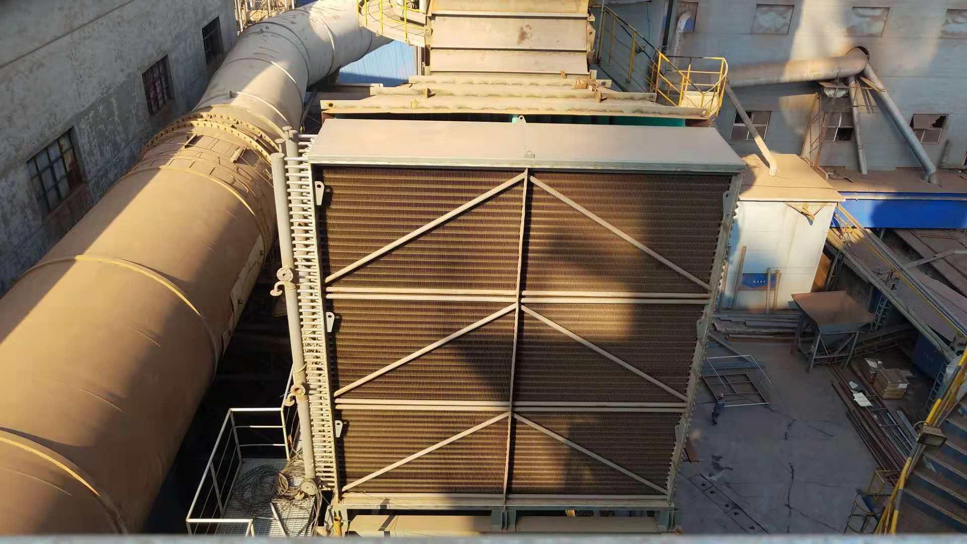 天津天丰钢铁1*150㎡烧结机烟气脱硝工程烟气换热器项目